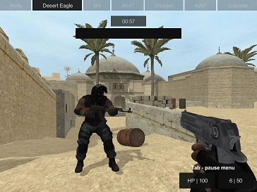 play Counter Strike: Dust 2