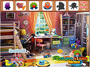 Colorful Bedroom Hidden Objects