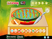 play Delicious Vegetable Pizz…