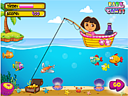 play Dora Fishing 1